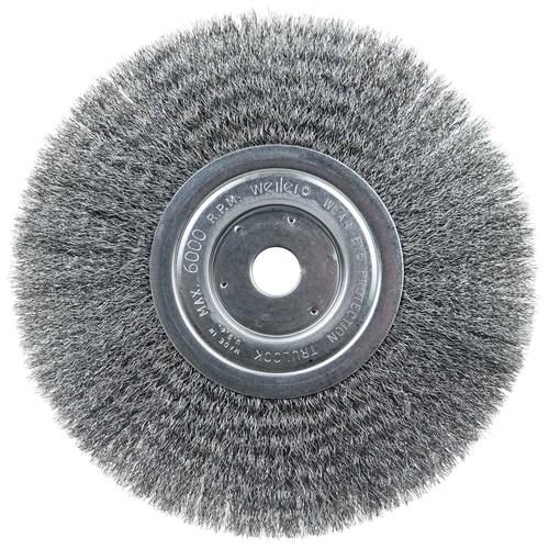 Weiler Wire Brush 13284 SRA-2  3//8-24 hub  .020  brush grinder