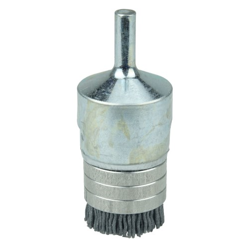 Qty WEILER 10033 WIRE BRUSH END STEEL CRIMPED WIRE 2 NEW