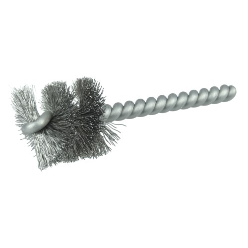 Pack of 6 4 Shank Length 1 Diameter 0.017 Wire Diameter 6 Length Brush Research 83 Spiral Twist Brush 1000 RPM Nylon Single Stem