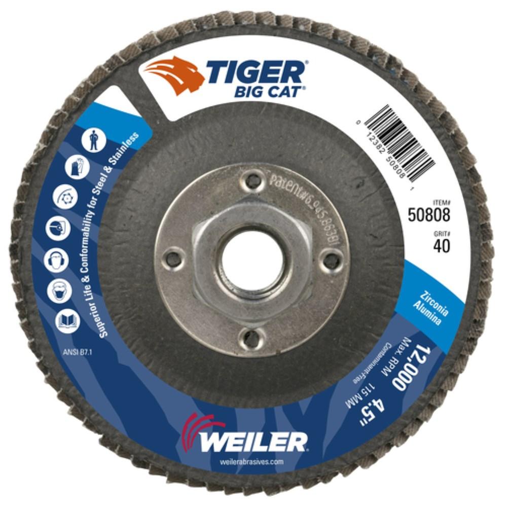 Non-Woven Finishing Disc 42 Units 6 in Disc Dia 3600 RPM Aluminum Oxide 1//2 in