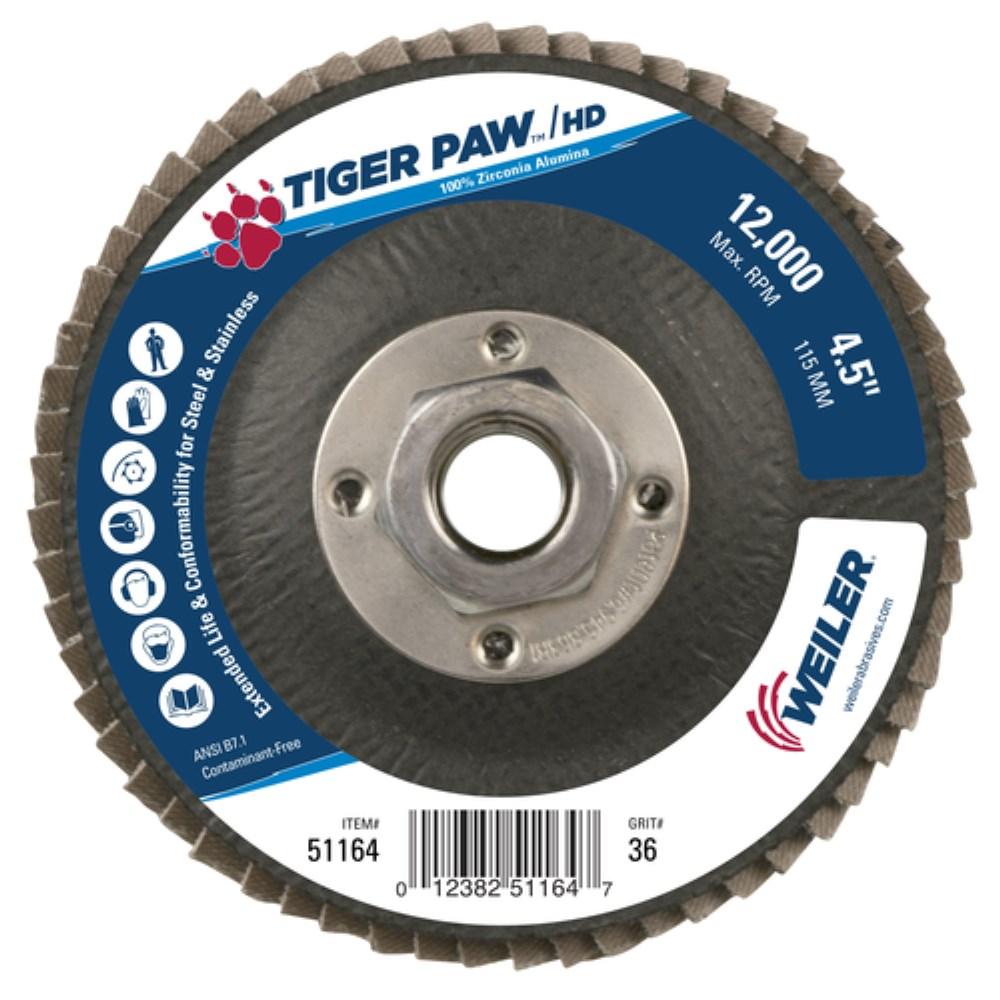 2 in Disc Dia Aluminum Oxide 68 Units 12000 RPM Non-Woven Finishing Disc