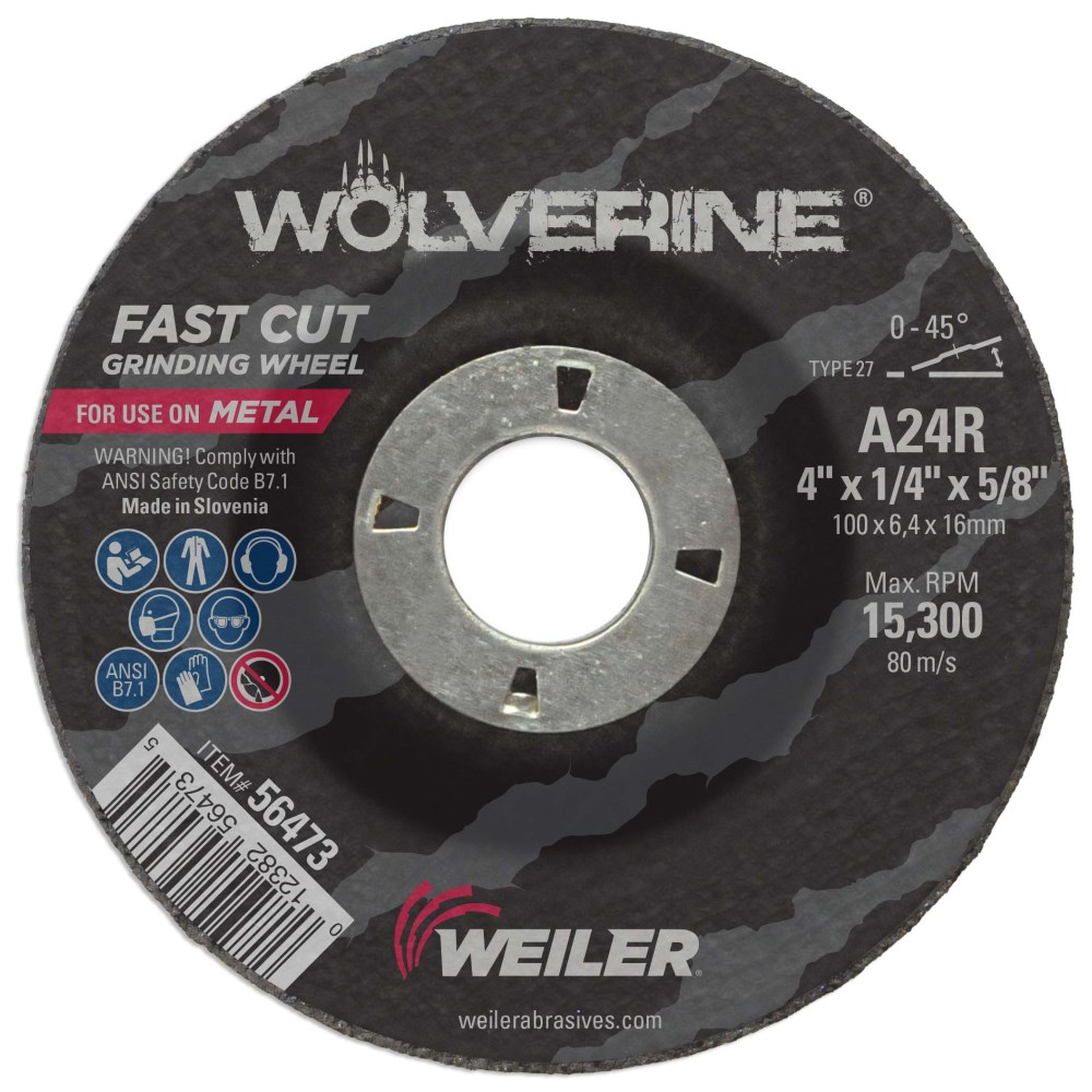 Aluminum Oxide Non-Woven Finishing Disc 56 Units 20000 RPM 2 in Disc Dia