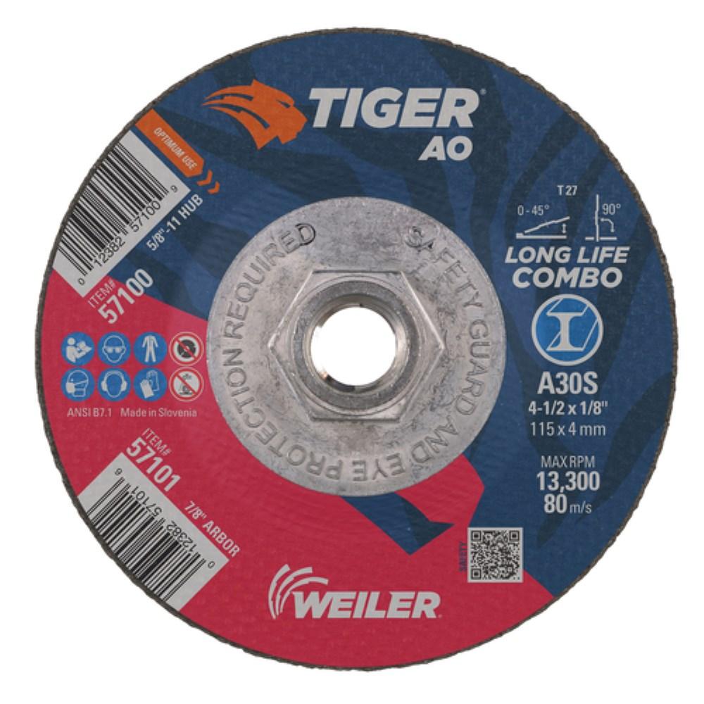 """100 Pack 4.5/"""" AO Resin Fiber Disc 80 Grit 4-1//2/"""" Grinding /& Sanding Discs"""